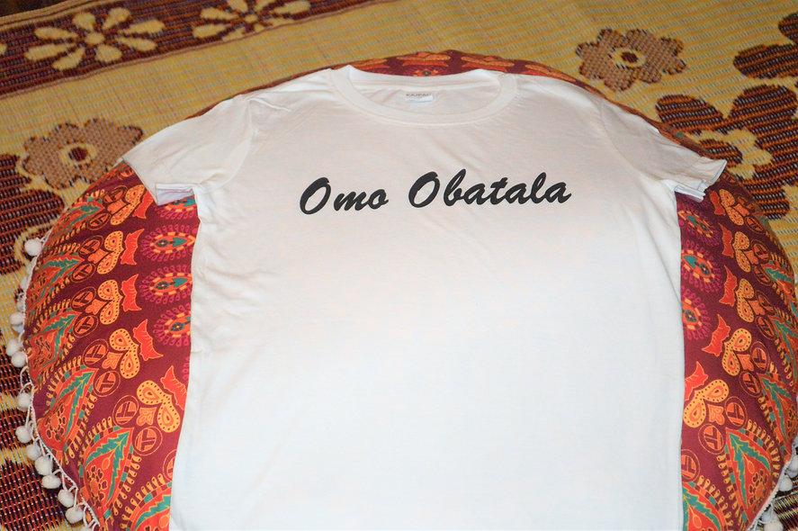 Omo Obatala Womens T shirt