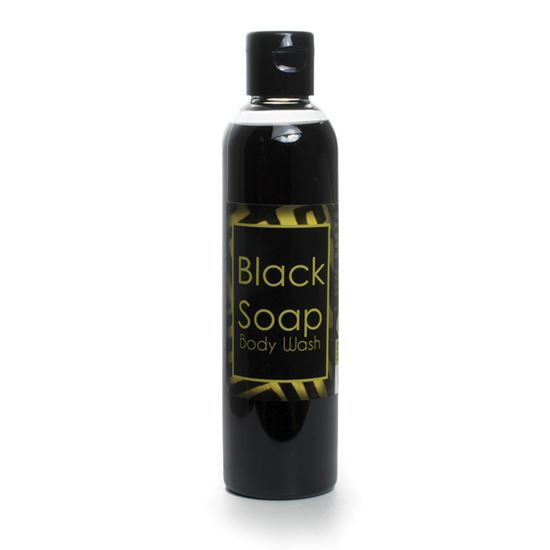 Rain Scented Liquid Black Soap