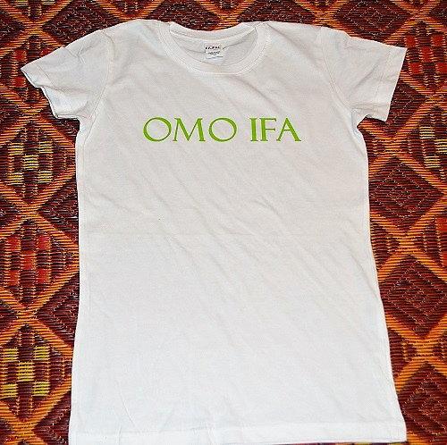 Omo Ifa Womens T shirt