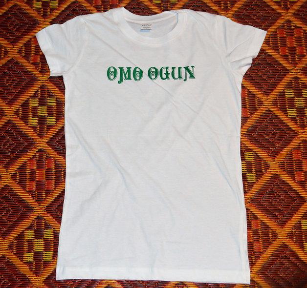 Omo Ogun Womens T shirt