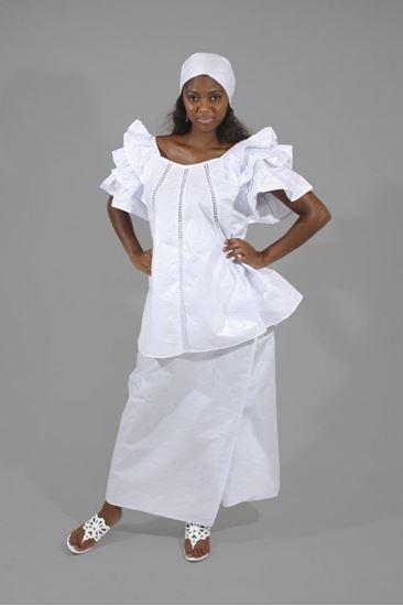 African Brocade Dress