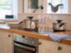 460 Kitchen at Lovejoys holiday cottage.