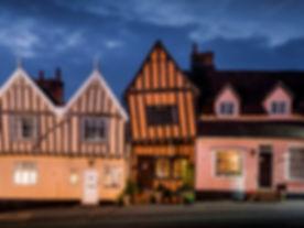 The Crooked House, Lavenham, Suffolk, En