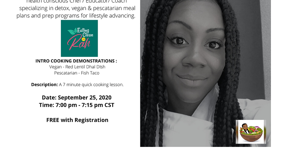 Black Pearl MarketPlace Speaker Series with Eating Clean with Rah
