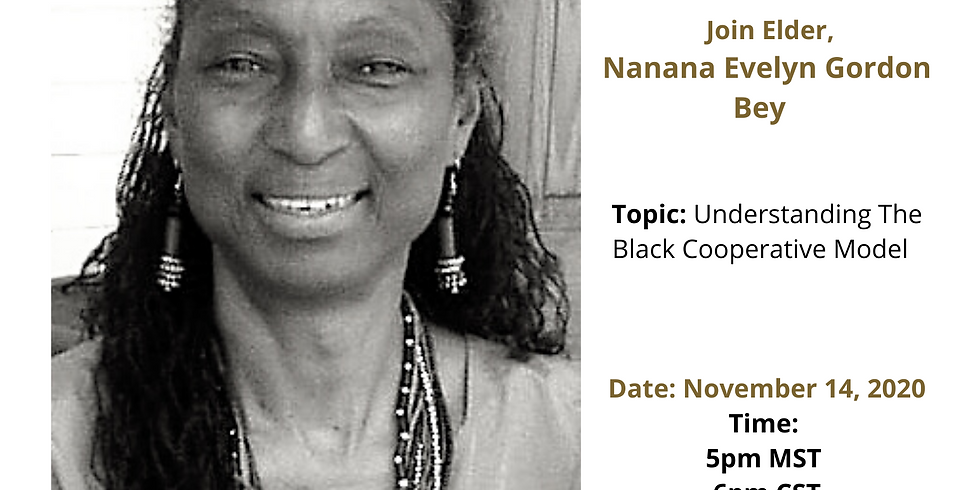 Black Pearl MarketPlace Speaker Series with Nanana Gordon Bey