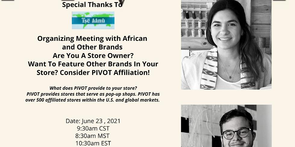 Pivot Co Founders, Juan Montes de Oca & Valeria Savino: Presentation For Store Owners with The Freedom Market
