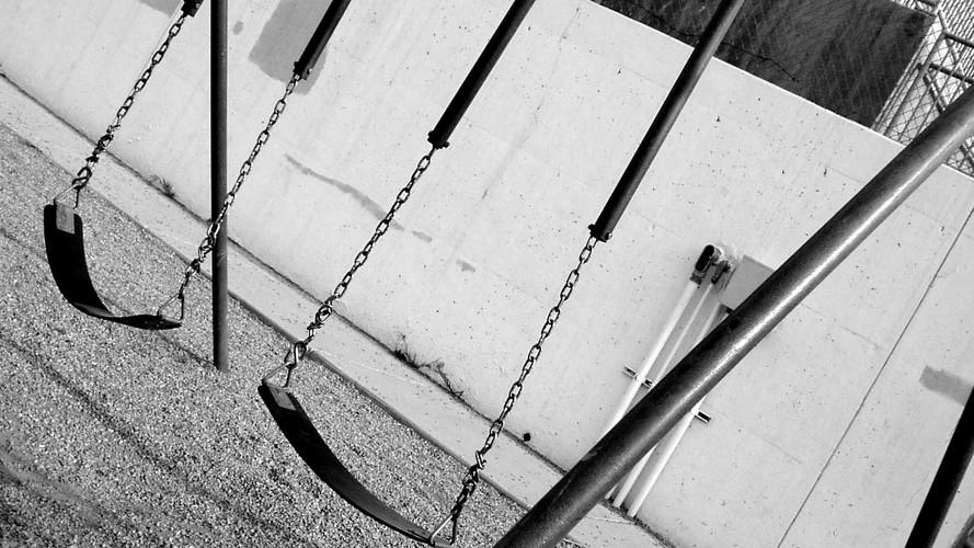 Swings At School