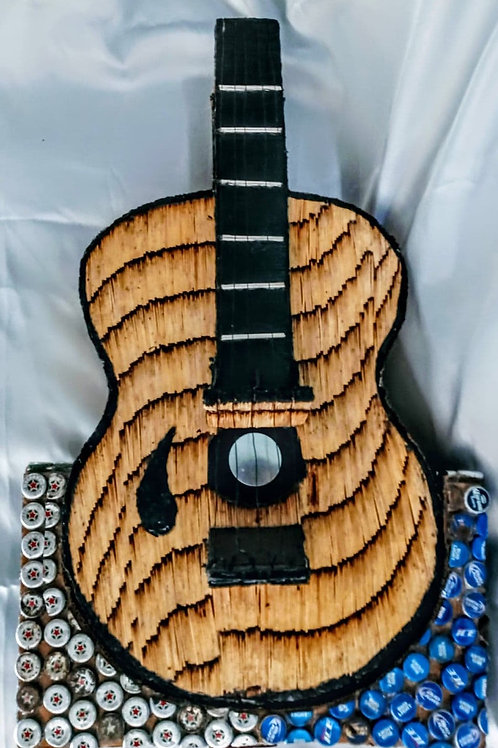 Cardboard and Matches Guitar