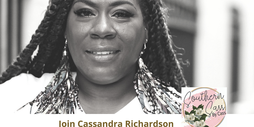 Black Pearl MarketPlace Speaker Series with Cassandra of Southern Sass by Cass