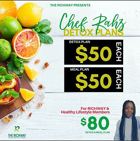 9-28-20 Eating Clean with RAh Meal plan