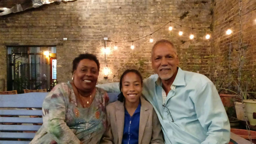 2018 Whose Magazine? with lead actress and actor of CANE RIVER