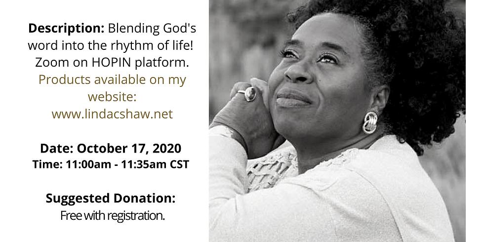 Black Pearl MarketPlace Speaker Series with Prayer Poet, Linda C. Shaw