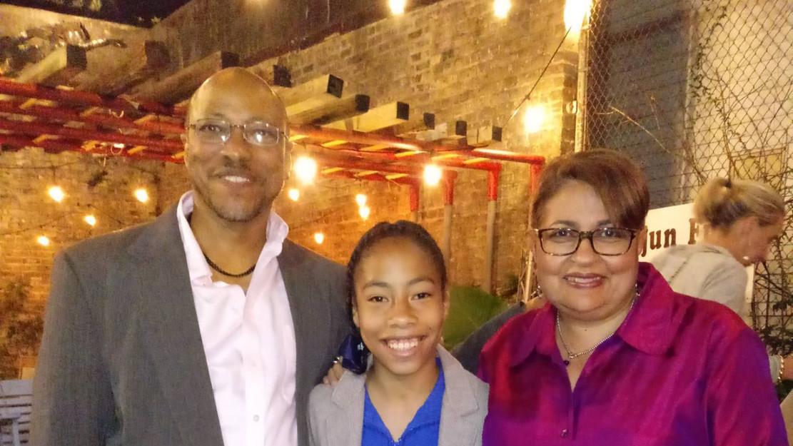 2018 New Orleans Film Festival, cast dinner for CANE RIVER