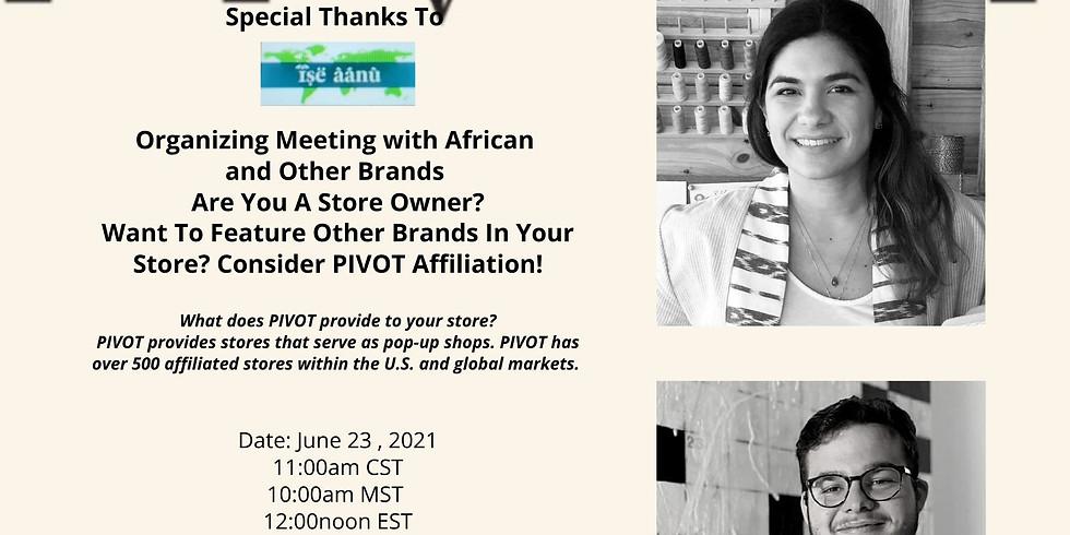Pivot Co Founders, Juan Montes de Oca & Valeria Savino: Presentation For Store Owners with The Freedom Market  (1)