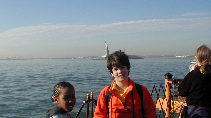 Ground Zero Reporters Nishann and Joanne (2001)