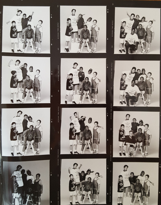 A Contact Sheet from Performance Camp