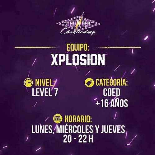Xplosion - Primera mensualidad