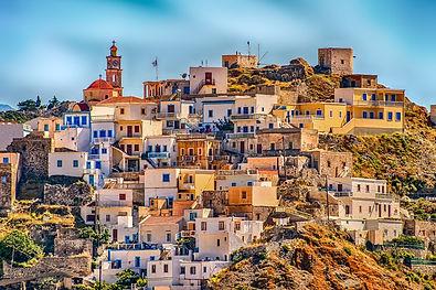 Karpathos villages.Χωριά της Καρπάθου.
