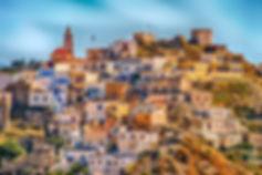 Greece_Village_Karpathos_Hill_Architectu