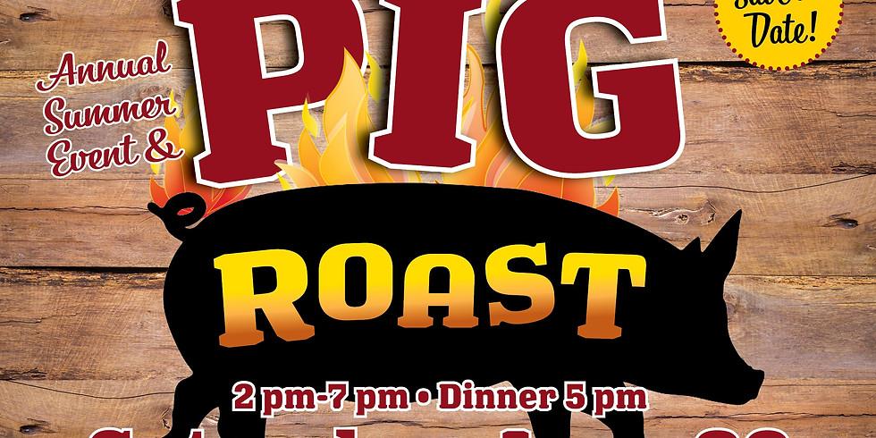Annual Summer Event & Pig Roast