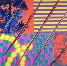 Stripes palm