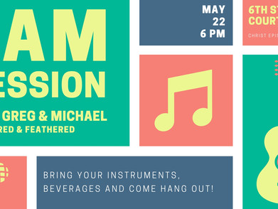 Open Jam Session on May 22
