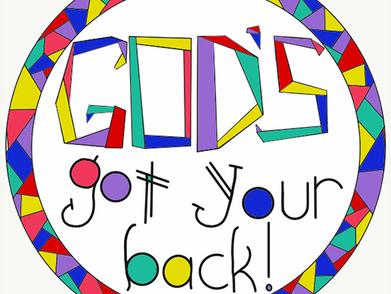 God's Got Your Back - Back to School Blessing