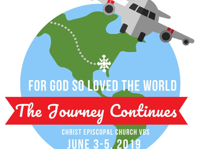 VBS goes around the World June 3-5