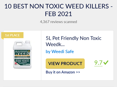 Top 10 Non Toxic Weedkillers of 2021 by UK Best Reviews Guide