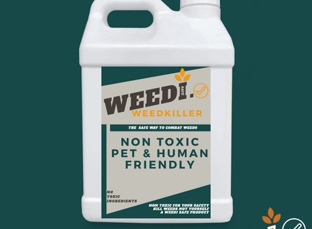 Pet friendly weedkiller!