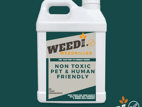 Pet friendly weedkiller!