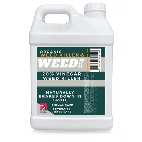 Organic Weedi Safe 20% Horticultural Vinegar Weed Killer