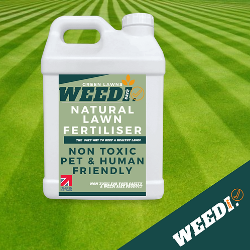 Greener Lawn Fertiliser natural pet friendly lawn feed 1L