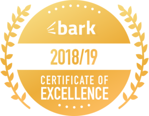 bark certificate of excellence gardener