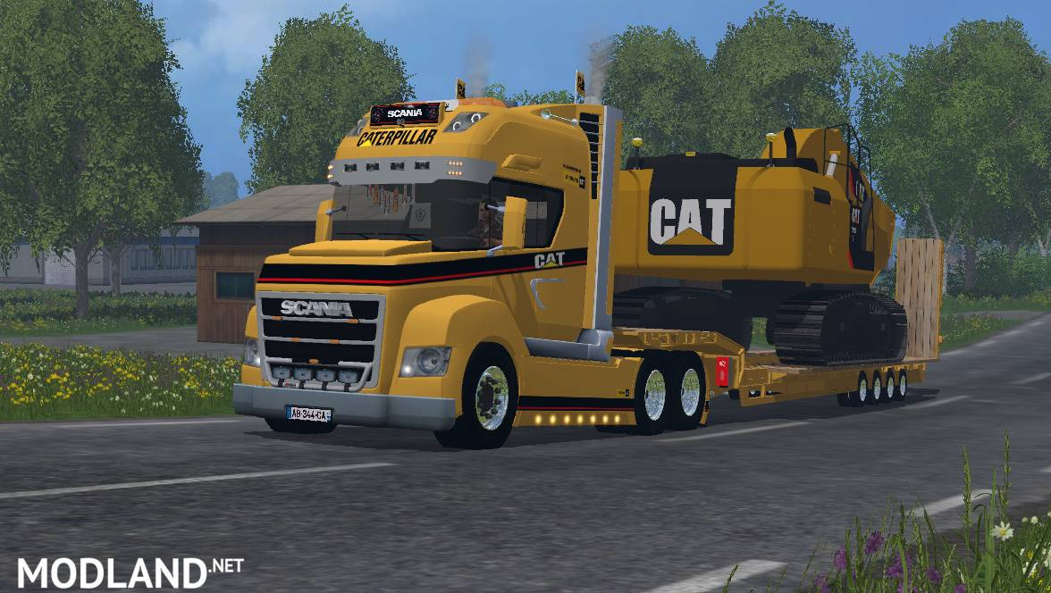 Mods Farming Simulator 2015 Scania Caterpillar