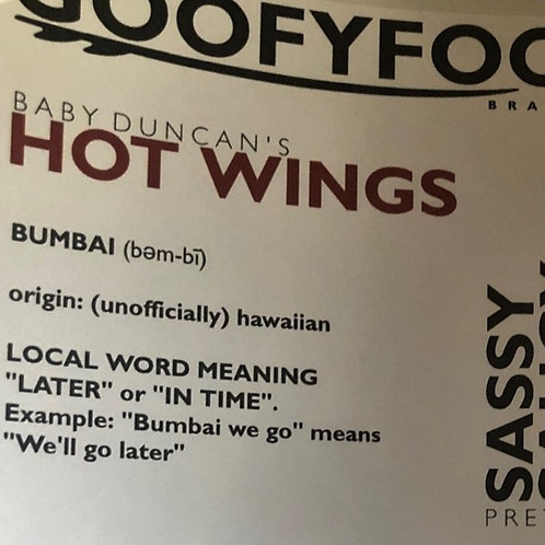 Baby Duncan's - Hot Wings