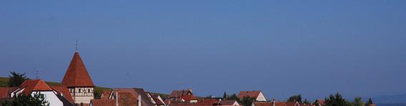 Les toits d'Obermorschwihr
