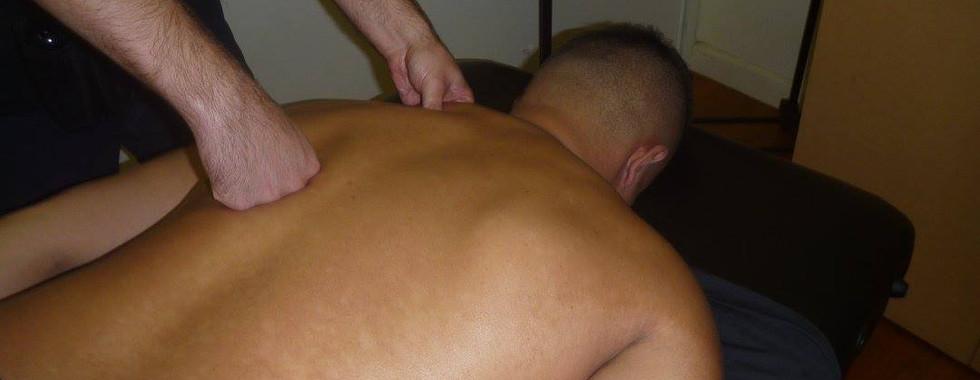 Massaging at Melbourne City Wrestling: TK Cooper