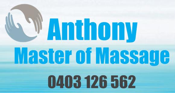 Anthony Master of Massage