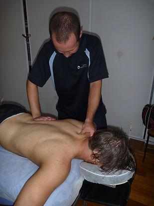 Melboure City Wresting_ massaging the St