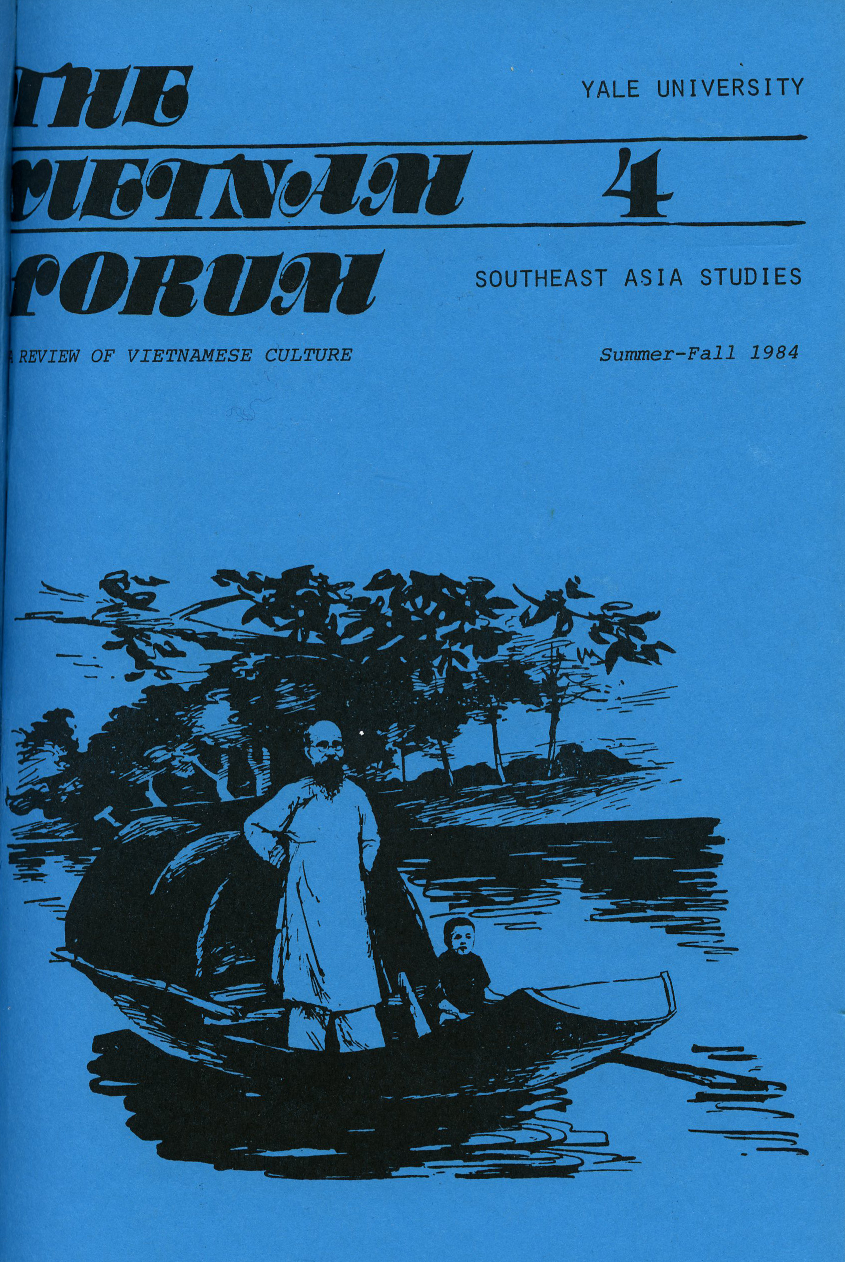 Cover of the Vietnam Forum 4