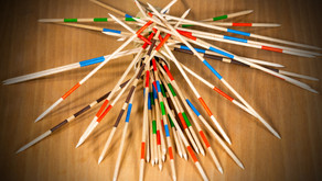 """When the """"Pick-Up-Sticks"""" Game Becomes Real"""