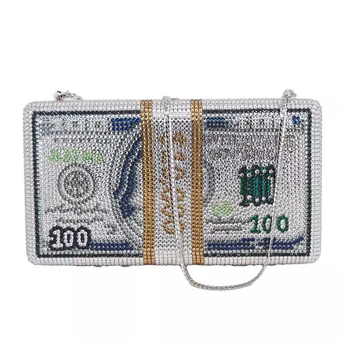 Glitz Money Clutch