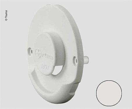 Kaminaußenteil bianco für Wandkaminset ZR 80