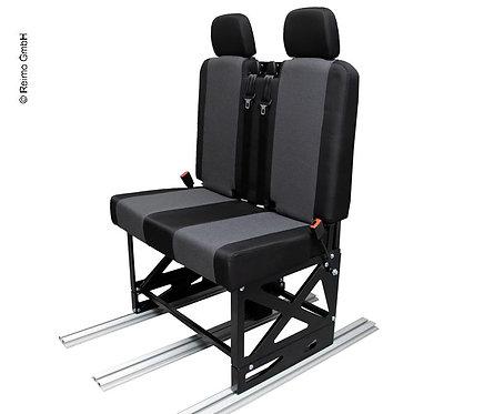 Polster für Sitz und Rückenlehne inkl. 2 Kopfstützen für Gurtbock 595010