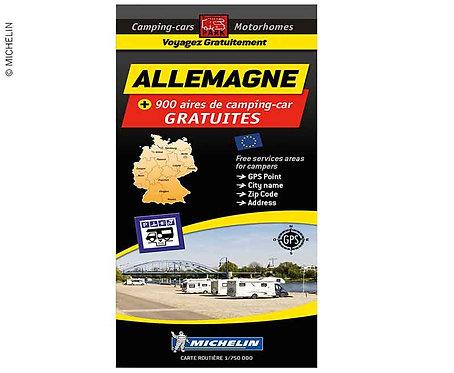 Michelin Stellplatzkarte kostenlose Stellplätze in Deutschland