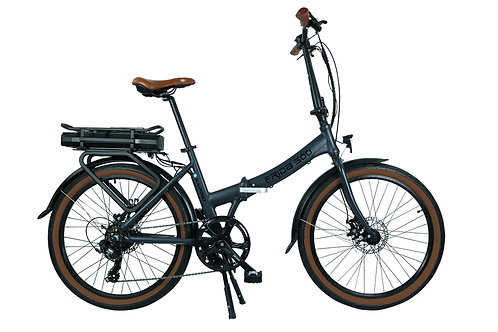 "City-E-Bike faltbar ""FRIDA 500"", grau-matt 20"""
