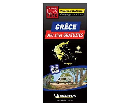 Michelin Stellplatzkarte kostenlose Stellplätze in Griechenland