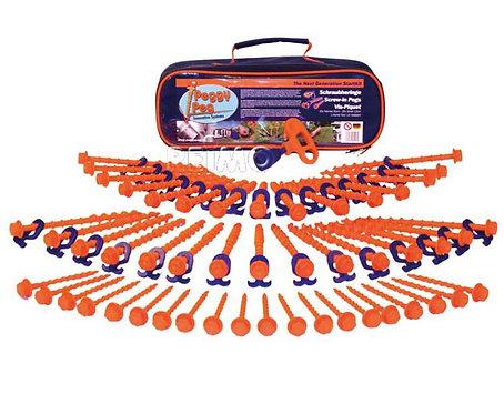 Peggy Peg Start Kit 30N, 20S, Kombi Tool m. Alu-Adapter, PreDrills, Tasche