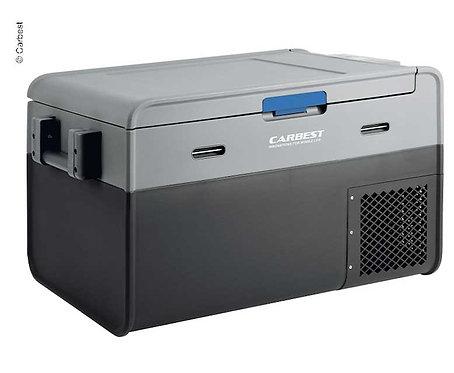 Carbest Kompressor-Kühlbox PowerCooler 35 - 35l, 12/24 Volt + 230 V Adapter